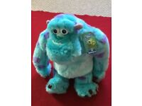 Sully (from Monster Inc.) Soft Toy – Brand New