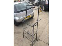 WORKSHOP CAR BATTERY STAND OR USE YOUE IMAGINATION 10 POUNDS
