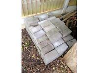 Approx 180 Block paving bricks