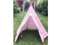 Beautiful Children's Teepee/ Play Tent