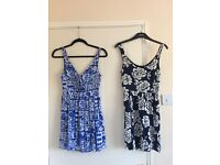 Women's clothes , dresses, shorts, tops, jeans, play suits, skirts. Size small/extra small.