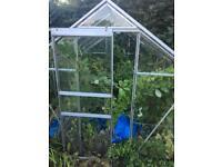 Glass Aluminium Greenhouse