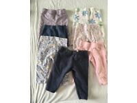 Baby Girl Clothes Bundle 0-3 months - 44 items
