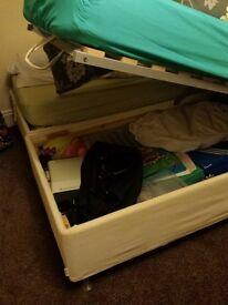 Ikea single storage bed