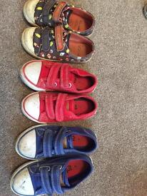 Size 7 and 8 plimsoles