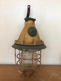 Vintage industrial Hanging Lamp - Russian