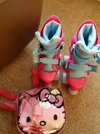 Girls Roller Skates & Pads