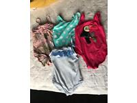 4 swimming costumes aged 2-3yrs