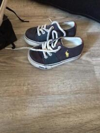 Boys Ralph Lauren polo and creative recreation shoes