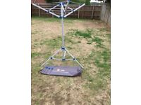 HI GEAR ROTARY WASHING LINE FOR CAMPING / CARAVAN