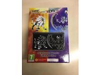 Pokemon sun and moon new 3DS XL Ltd edition