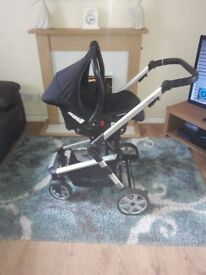 Travel system Beeb pushchair and car seat