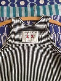 Merino Kids sleep bag, size 2-4 years. Pure merino wool inner lining & organic cotton outer