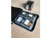 Mini Disc x 39 (recordable) with carry case and storage box