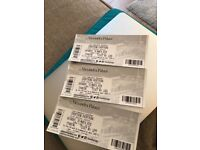 3 tickets for 'Everything Everything' at Alexandra Palace - Sundara Karma supporting.