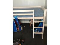 Kids cabin bed with slide (mattress not included)