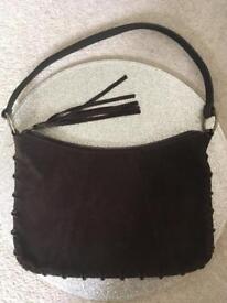 NEXT Brown Suede Handbag