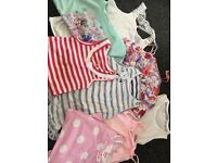 Bundle of 8 girls summer tops !! 7-8 Yrs fab Condition !!