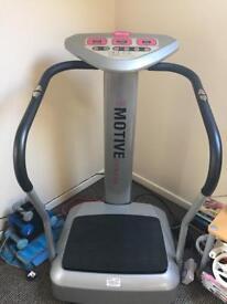 Oscillating vibro plate- motive fitness