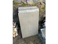 Granite paving slabs Great condition