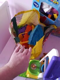 Various Toot toot play sets
