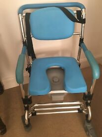 Shower Commode with wheels for sale