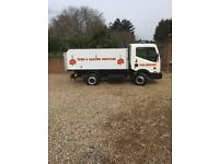 No vat Nissan cabstar tipper good condition not a transit