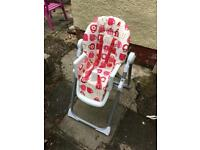 Cosatto high chair - great condition
