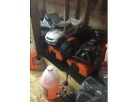 Rc nitro cars x2 and over £200 in spares
