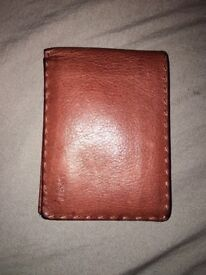 Designer Lancetti genuine leather wallet