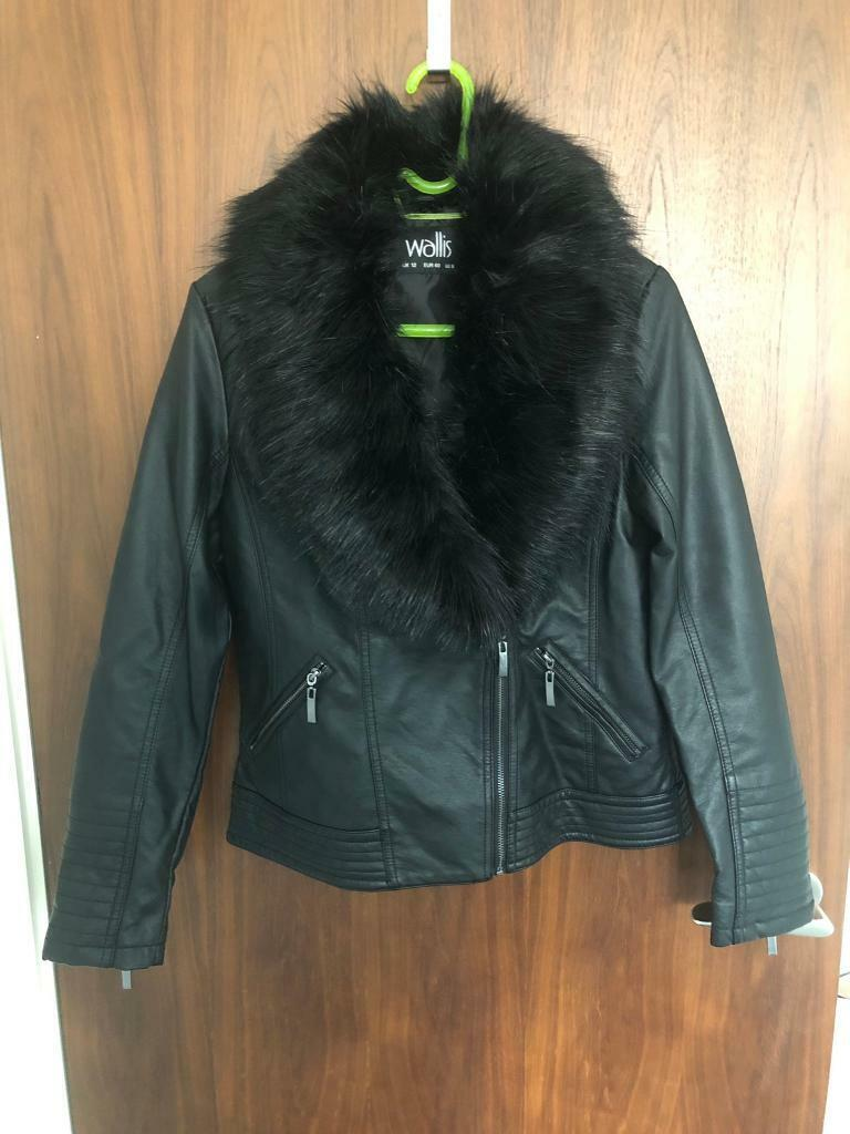 e763b3d42 Wallis faux leather jacket | in Liverpool City Centre, Merseyside | Gumtree