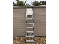 Abru 7 step stepladder