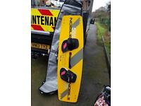 Kite Surfing 12m long with line,board,kite pump,bag etc