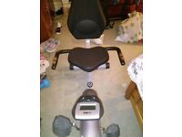 Recumbent exercise bike excellent condition