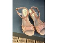 Lovely Ladies Brown Sandals by Mantary
