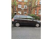 VAUXHALL Zafira MPV 1.7 Diesel manual 2011 with PCO sticker, ready for cab-- fixed price is £3500/-