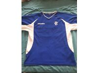 Rangers fc retro training drill shirt..