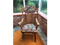 Rocking Chair in Pine