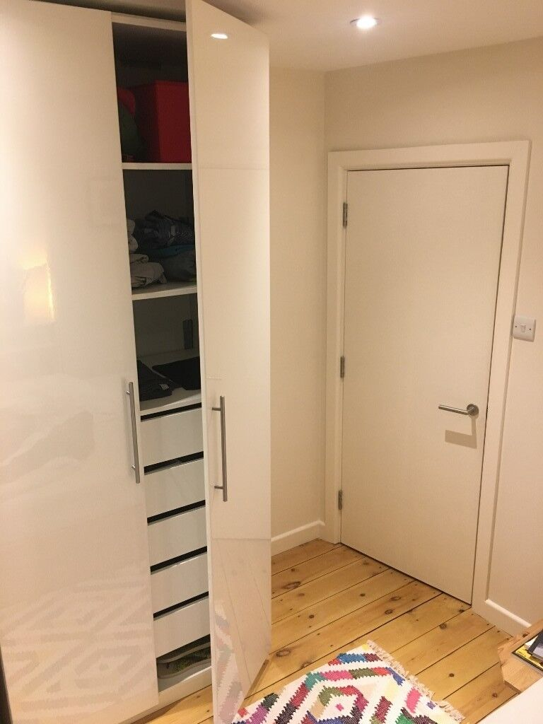 best service 11f0b ddfbf Ikea Fardal door for Pax wardrobe - 50 x 229cm | in Hackney, London |  Gumtree