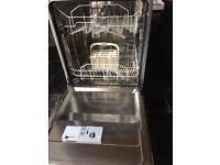 Integrated hotpoint dishwasher
