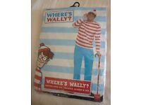 WHERES WALLY ADULT DRESSING UP OUTFIT, NEW IN PACKET