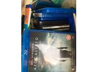 Job Lot of Blu rays, DVD's and Cd's