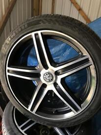 "Renault traffic Vauxhall vivaro Nissan primaster 18"" alloy wheels"