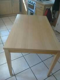 Dining Table - Light Oak