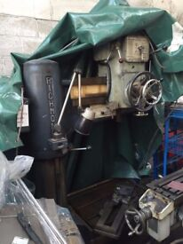 RICHMOND RADIAL ARM DRILL MACHINE TOOL SUPER WORKING ORDER LUTON LOCATION