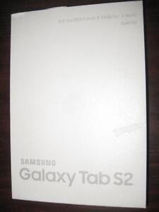 """Samsung Galaxy Tab S2. 32GB. WiFi 8"""" Touchscreen Tablet. Gold. Android. Octa Core. Dual Camera. Bluetooth. Finger Print"""