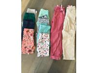 Girls trouser bundle age 4 - 5 (10 items)