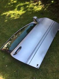 mercedes hatchback coupe driver side door