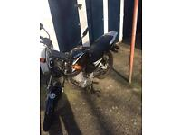 Jianshe 125cc motorcycle