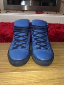 Blue Balenciaga Shoes Size 9